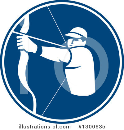 Archery Clipart #1300635 by patrimonio