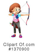 Archery Clipart #1370900 by Graphics RF