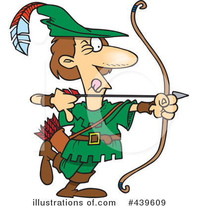Archery Clipart #439609 by toonaday
