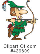 Royalty-Free (RF) Archery Clipart Illustration #439609