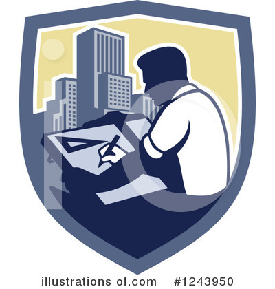 Architect Clipart #1243950 by patrimonio