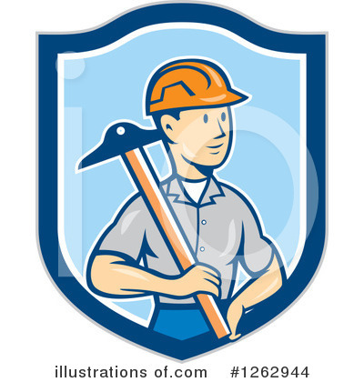Builder Clipart #1262944 by patrimonio