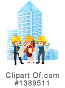 Architect Clipart #1389511 by Graphics RF
