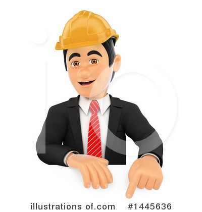 Royalty-Free (RF) Architect Clipart Illustration by Texelart - Stock Sample #1445636