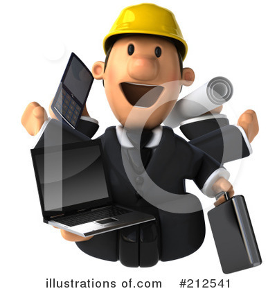Architect Clipart #212541 by Julos