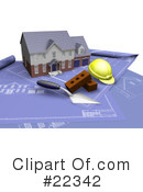 Royalty-Free (RF) Architect Clipart Illustration #22342