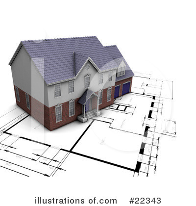 Royalty-Free (RF) Architect Clipart Illustration by KJ Pargeter - Stock Sample #22343