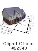 Royalty-Free (RF) Architect Clipart Illustration #22343