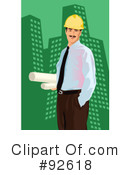 Royalty-Free (RF) Architect Clipart Illustration #92618