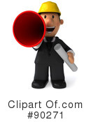 Architect Guy Clipart #90271