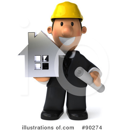 Architect Clipart #90274 by Julos