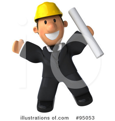 Architect Clipart #95053 by Julos