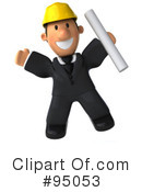 Architect Guy Clipart #95053