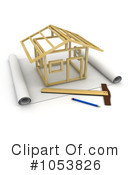 Royalty-Free (RF) Architecture Clipart Illustration #1053826