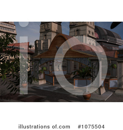 Gazebo Clipart #1075504 by Ralf61