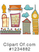 Royalty-Free (RF) Architecture Clipart Illustration #1234882
