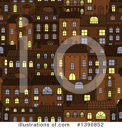 City Clipart #1390852 by Vector Tradition SM