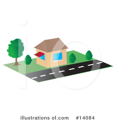 Road Clipart #14084 by Rasmussen Images