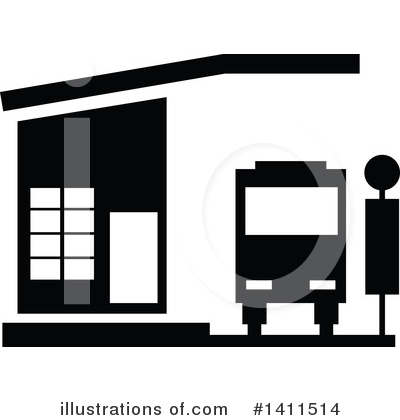 Bus Clipart #1411514 by dero