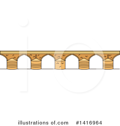 Bridge Clipart #1416964 by Vector Tradition SM