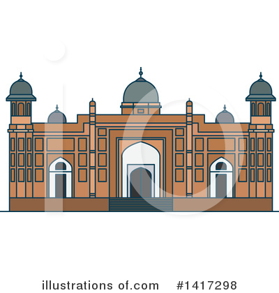 Fortress Clipart #1417298 by Vector Tradition SM