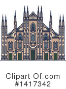 Architecture Clipart #1417342 by Vector Tradition SM