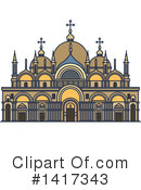 Architecture Clipart #1417343 by Vector Tradition SM