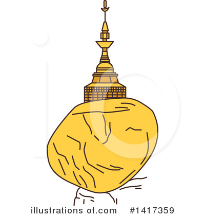 Pagoda Clipart #1417359 by Vector Tradition SM