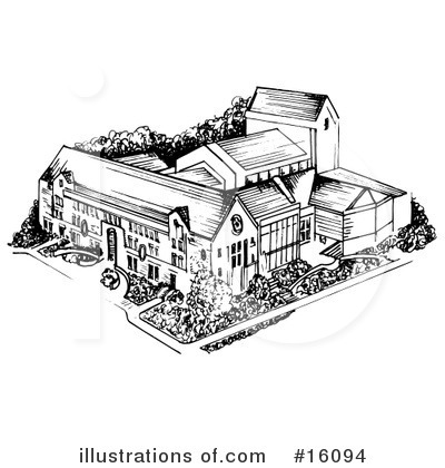 Royalty-Free (RF) Architecture Clipart Illustration by Andy Nortnik - Stock Sample #16094