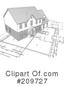 Royalty-Free (RF) Architecture Clipart Illustration #209727