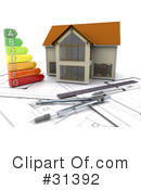 Royalty-Free (RF) Architecture Clipart Illustration #31392