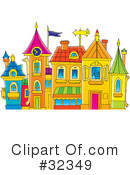 Royalty-Free (RF) architecture Clipart Illustration #32349
