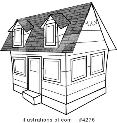 Royalty-Free (RF) Architecture Clipart Illustration by Dennis Cox - Stock Sample #4276