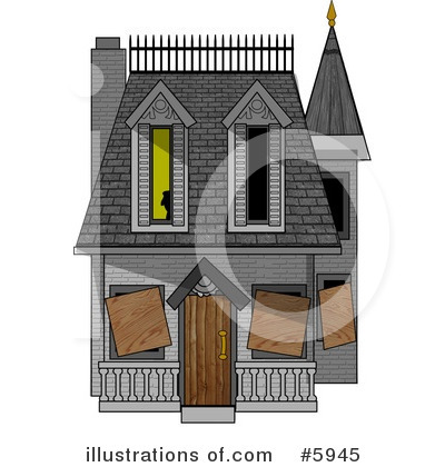 House Clipart #5945 by djart