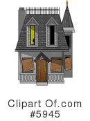 Royalty-Free (RF) Architecture Clipart Illustration #5945