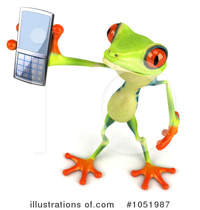 Royalty-Free (RF) Argie Frog Clipart Illustration by Julos - Stock Sample #1051987