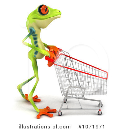 Royalty-Free (RF) Argie Frog Clipart Illustration by Julos - Stock Sample #1071971