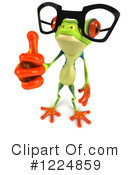 Royalty-Free (RF) Argie Frog Clipart Illustration #1224859
