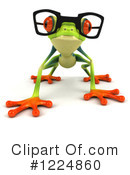Royalty-Free (RF) Argie Frog Clipart Illustration #1224860