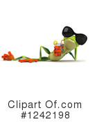 Argie Frog Clipart #1242198 by Julos