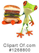 Royalty-Free (RF) Argie Frog Clipart Illustration #1268800