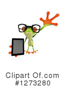Argie Frog Clipart #1273280 by Julos