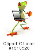 Royalty-Free (RF) Argie Frog Clipart Illustration #1310528