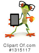 Royalty-Free (RF) Argie Frog Clipart Illustration #1315117