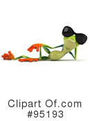 Royalty-Free (RF) Argie Frog Clipart Illustration #95193