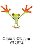 Royalty-Free (RF) Argie Frog Clipart Illustration #98872