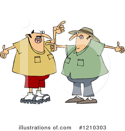 arguing clipart 1210303 illustration by djart