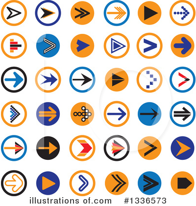 Arrow Clipart #1336573 by ColorMagic
