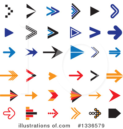 Arrow Clipart #1336579 by ColorMagic