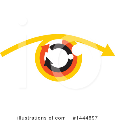Eye Clipart #1444697 by ColorMagic